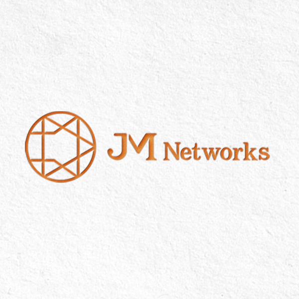 로고 + 명함 | 제이엠 네트웍스 로고 디... | 라우드소싱 포트폴리오