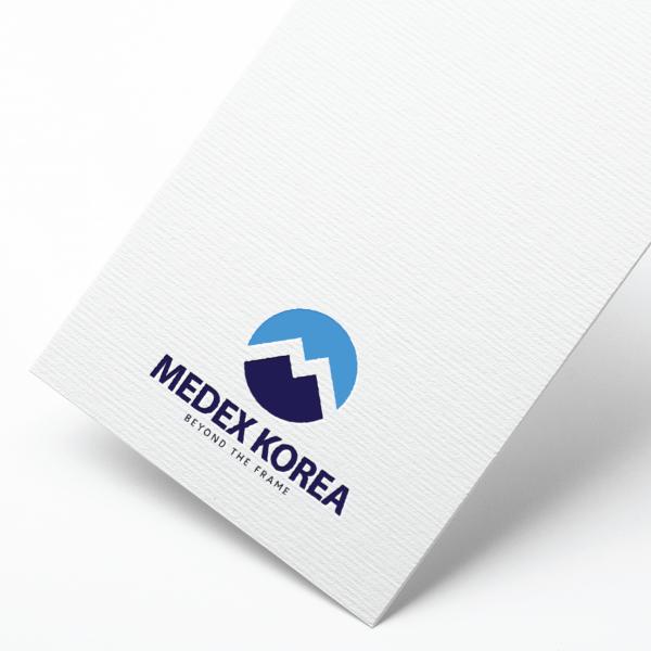 로고 + 명함 | 메덱스코리아 로고 디자인... | 라우드소싱 포트폴리오