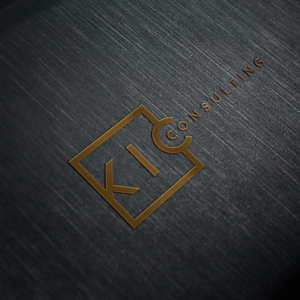 로고 + 명함   KIC Consulting   라우드소싱 포트폴리오