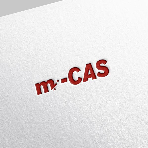 로고 디자인 | m-CAS 로고 제작 요... | 라우드소싱 포트폴리오