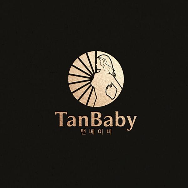 로고 + 간판 | 탠베이비 태닝샵 로고및 ... | 라우드소싱 포트폴리오