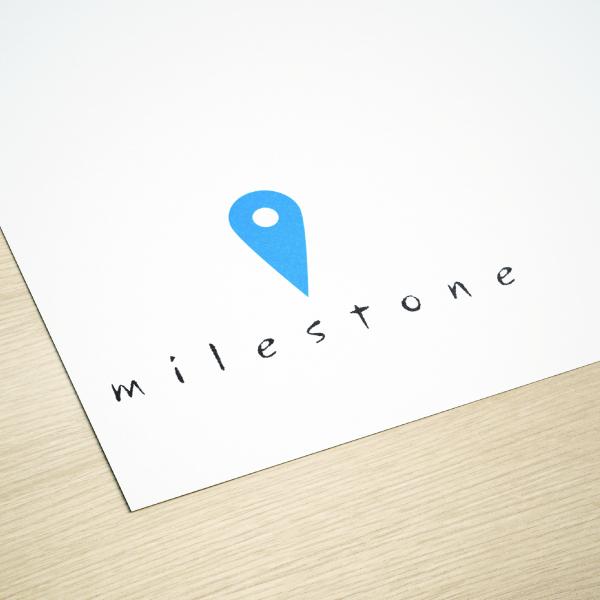 로고 디자인 | milestone(대문자... | 라우드소싱 포트폴리오