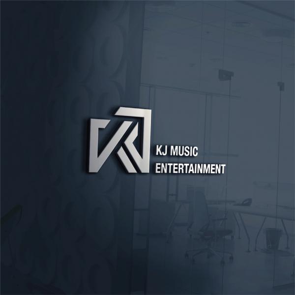 로고 디자인 | (주)KJ MUSIC ENTE... | 라우드소싱 포트폴리오