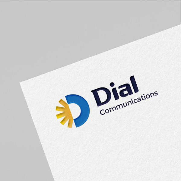 로고 + 명함 | (주)다이얼커뮤니케이션즈 | 라우드소싱 포트폴리오