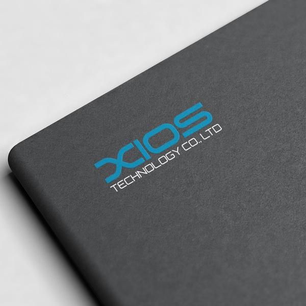 로고 + 명함   주식회사 지오스테크놀러지   라우드소싱 포트폴리오