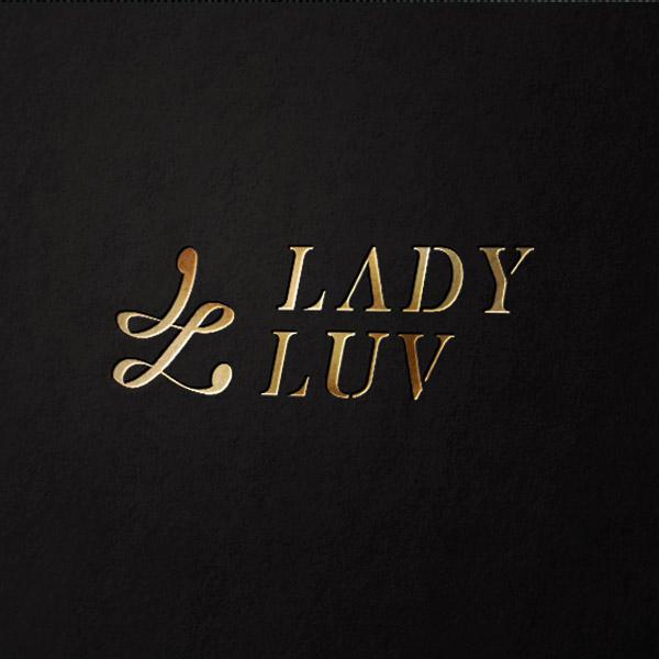 로고 디자인   Lady Luv   라우드소싱 포트폴리오