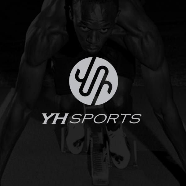 로고 + 명함 | YH Sports CI(... | 라우드소싱 포트폴리오