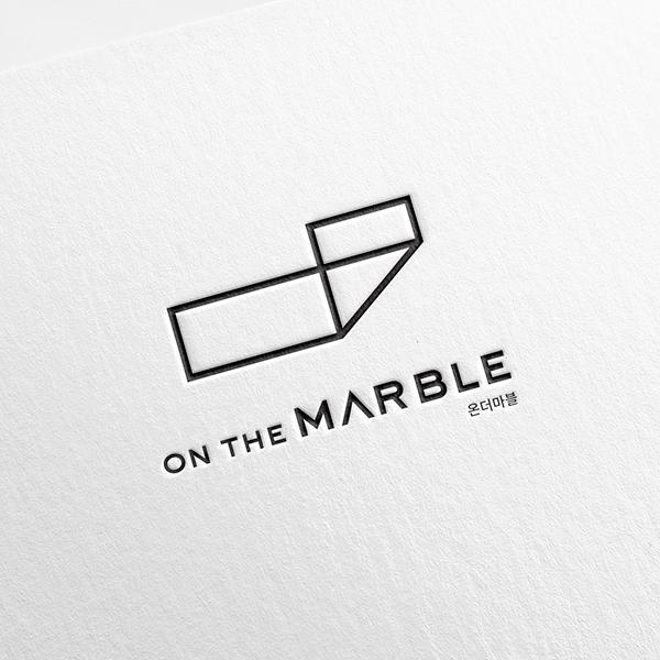 로고 + 명함   온더마블(on the marble)   라우드소싱 포트폴리오