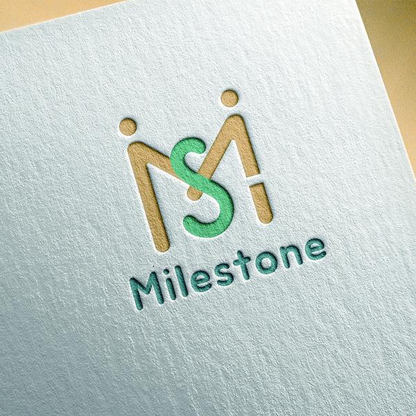 로고 디자인   마일스톤   라우드소싱 포트폴리오