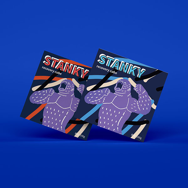 패키지 디자인   (주)네이처프론트/STANKY   라우드소싱 포트폴리오