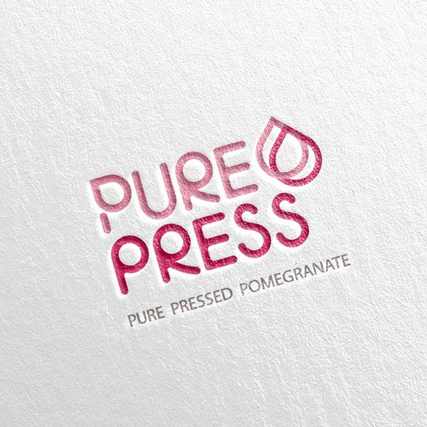 로고 디자인 | 브랜드: 퓨어프레스 Pure ... | 라우드소싱 포트폴리오
