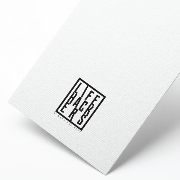 로고 디자인   LIFE HACKERS   라우드소싱 포트폴리오