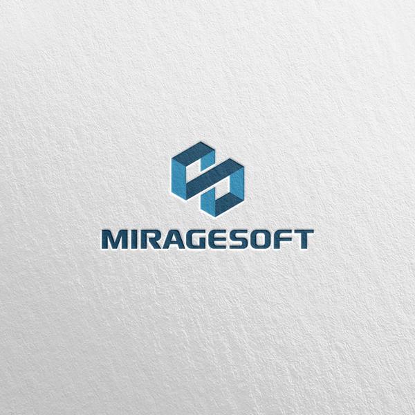 로고 + 명함 | MIRAGESOFT | 라우드소싱 포트폴리오
