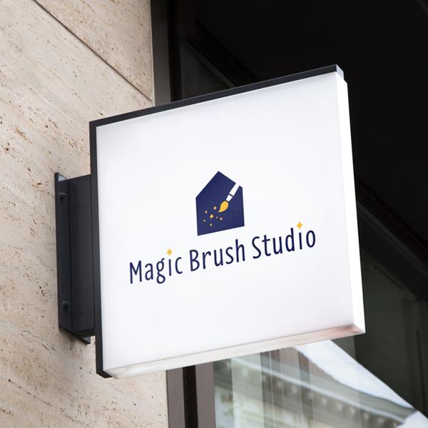 로고 디자인 | magic brush s... | 라우드소싱 포트폴리오