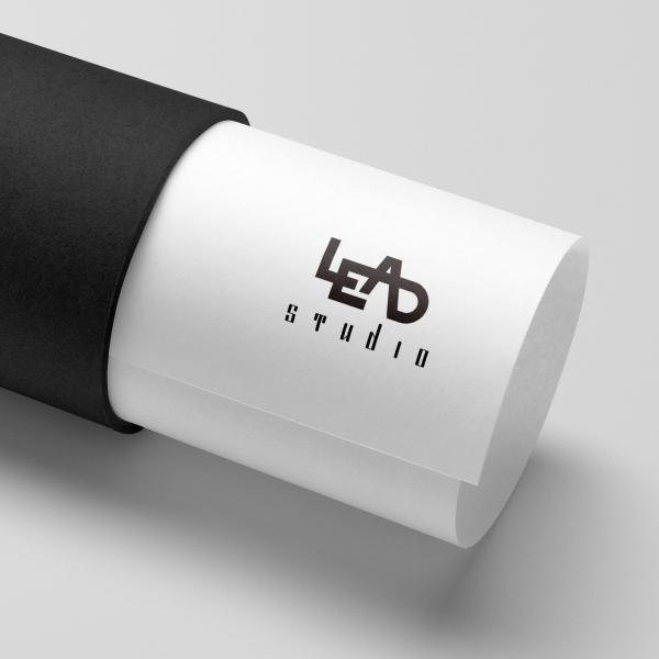 로고 + 명함 | LEAD Studio 브... | 라우드소싱 포트폴리오