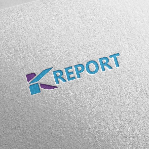 로고 디자인 | K-report 콘텐츠 ... | 라우드소싱 포트폴리오