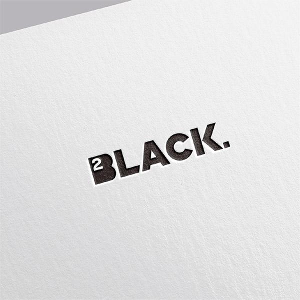 로고 + 명함   2BLACK   라우드소싱 포트폴리오