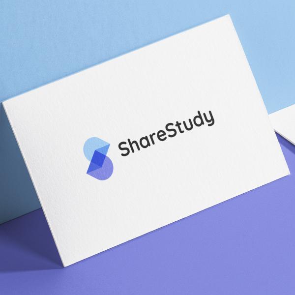 로고 + 명함 | 쉐어스터디 | 라우드소싱 포트폴리오