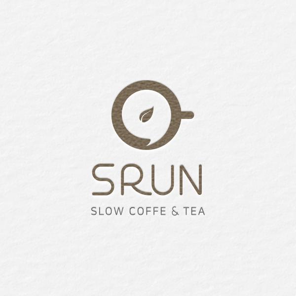 로고 + 명함 | CAFE SRUN (slow ... | 라우드소싱 포트폴리오