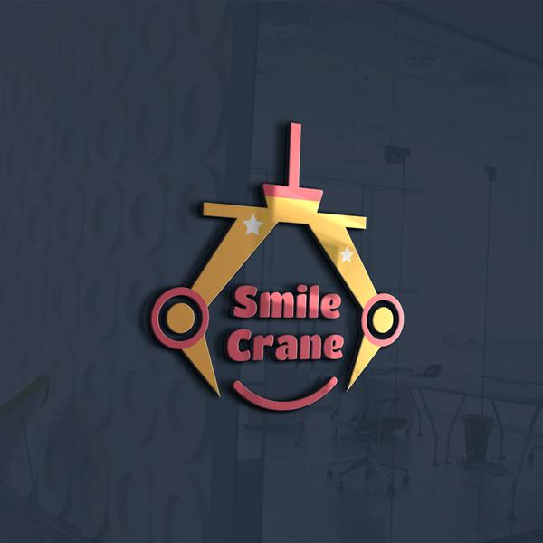 로고 + 간판 | 스마일크레인 | 라우드소싱 포트폴리오