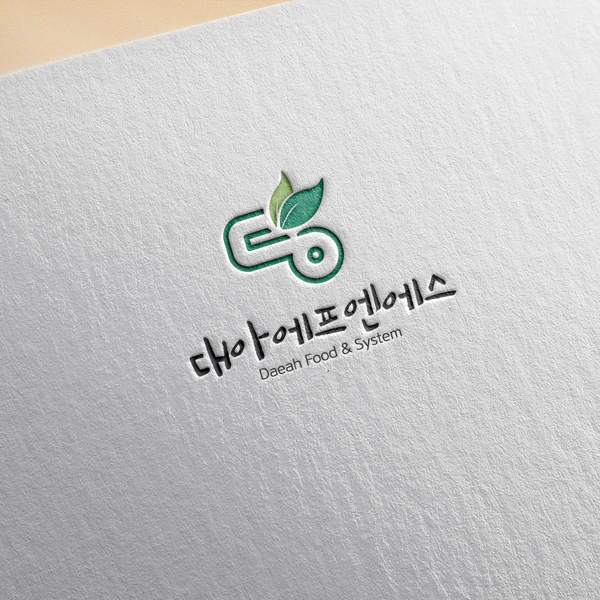 로고 + 간판 | 대아에프엔에스 | 라우드소싱 포트폴리오