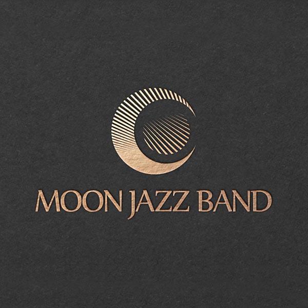 로고 디자인 | 문 재즈 밴드 | 라우드소싱 포트폴리오
