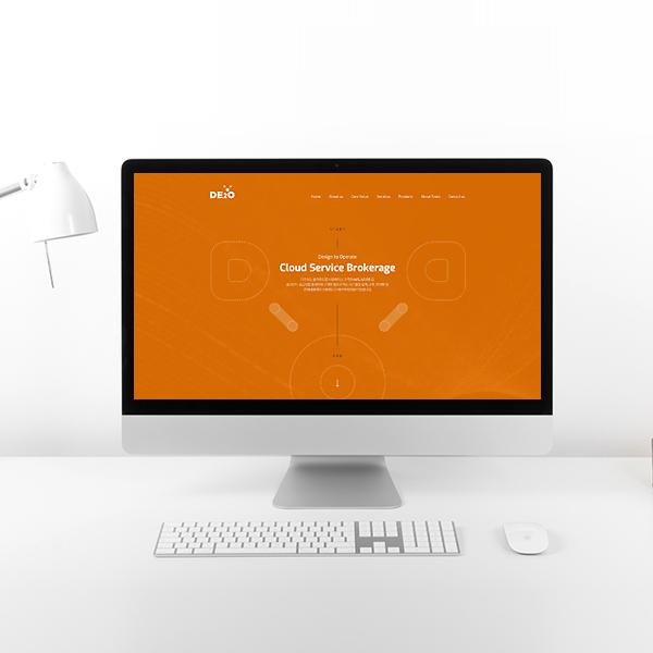웹사이트 | 디투오 웹 페이지 디자인 의뢰 | 라우드소싱 포트폴리오