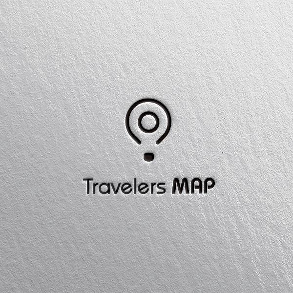 로고 디자인 | 트래블러스맵 | 라우드소싱 포트폴리오
