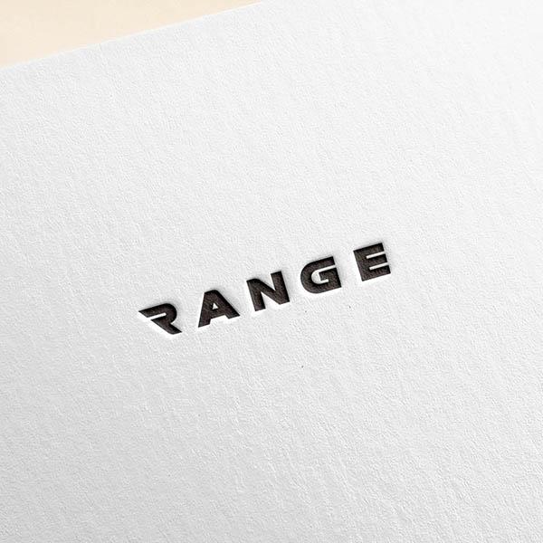 로고 + 명함   레인지인터내셔널    라우드소싱 포트폴리오