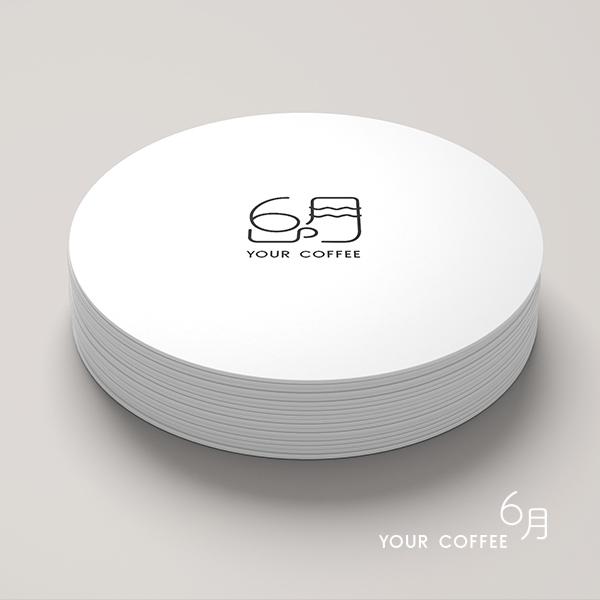 로고 + 명함 | Cafe 6月 로고 ... | 라우드소싱 포트폴리오