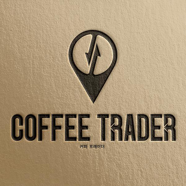 로고 디자인   커피 트레이더   라우드소싱 포트폴리오