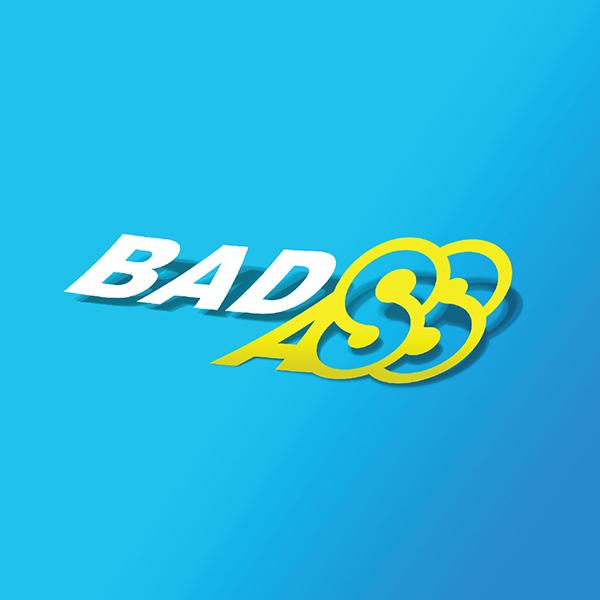 로고 디자인   BADASS   라우드소싱 포트폴리오