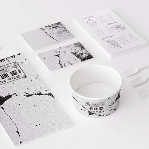 패키지 디자인 | 백미당 | 라우드소싱 포트폴리오