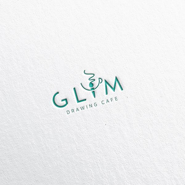 로고 + 명함 | GLIM 카페 로고 디자... | 라우드소싱 포트폴리오
