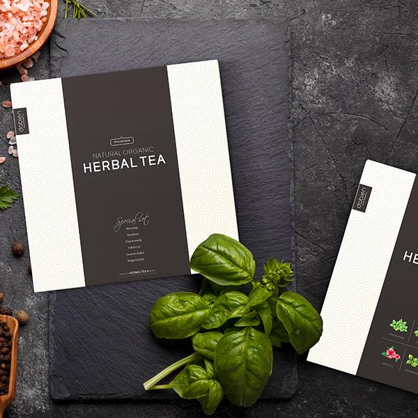 패키지 디자인 | 허브티 선물세트 박스 패... | 라우드소싱 포트폴리오