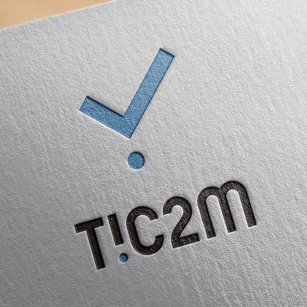 로고 디자인   틱투엠(Tic2M)   라우드소싱 포트폴리오