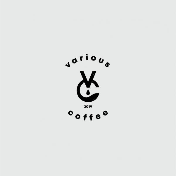 로고 + 명함 |  various coffee | 라우드소싱 포트폴리오