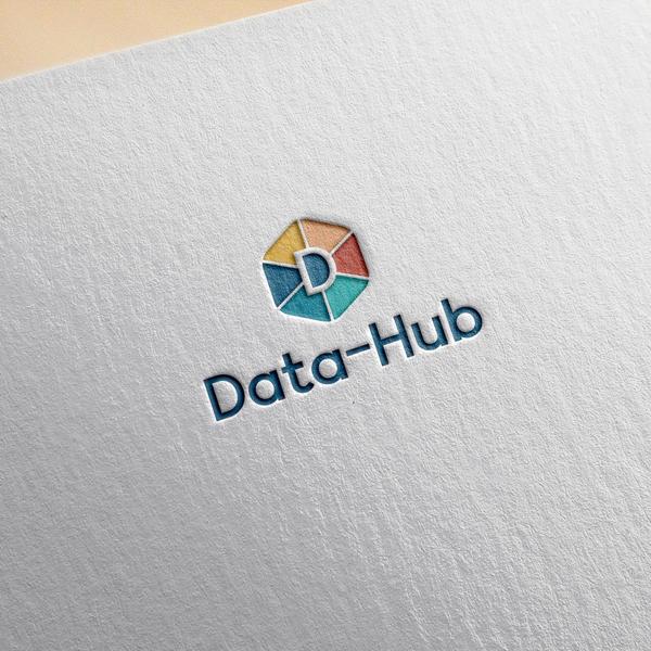 로고 디자인 | Data-Hub 로고 디... | 라우드소싱 포트폴리오