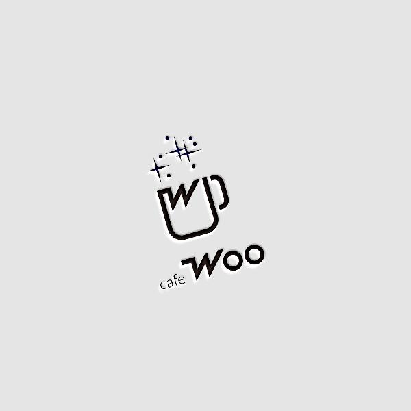 로고 디자인 | 카페 우(cafe Woo) | 라우드소싱 포트폴리오