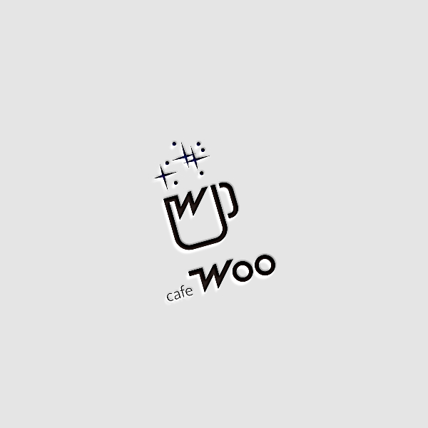 로고 디자인   카페 우(cafe Woo)   라우드소싱 포트폴리오