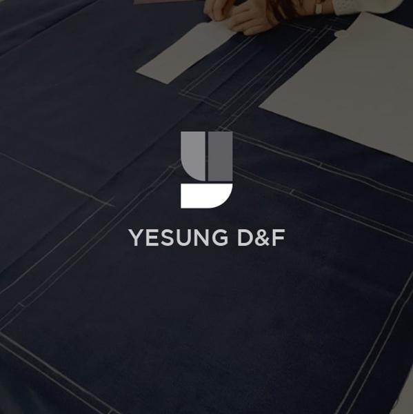 로고 + 명함 | 예성디앤에프 로고디자인및... | 라우드소싱 포트폴리오