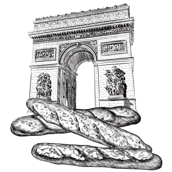 일러스트 | 기욤 빵 포장등에 사용될... | 라우드소싱 포트폴리오
