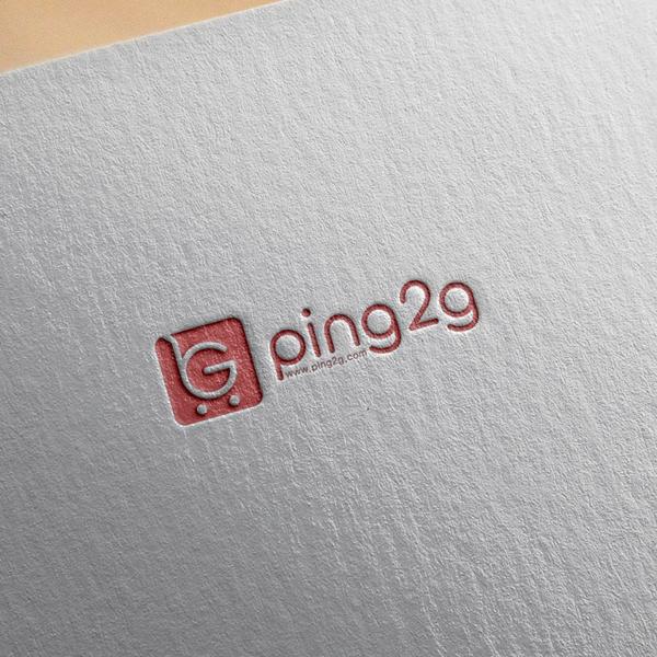 로고 디자인 | ping2g | 라우드소싱 포트폴리오