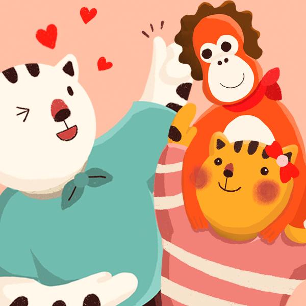 캐릭터 디자인 | 어린이 동요 시리즈 애니... | 라우드소싱 포트폴리오