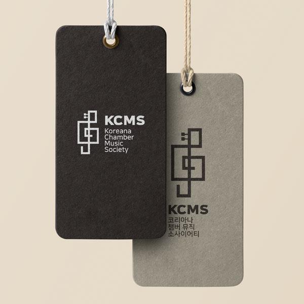 로고 + 명함 | 코리아나 챔버 뮤직 소사... | 라우드소싱 포트폴리오