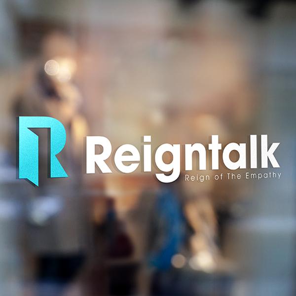 로고 디자인   Reign Talk 레인톡   라우드소싱 포트폴리오