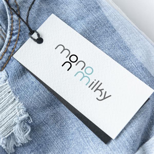 로고 디자인   mono n milky   라우드소싱 포트폴리오