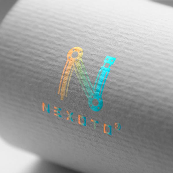 로고 + 네이밍 | 자동화설비 제조사 해외 ... | 라우드소싱 포트폴리오