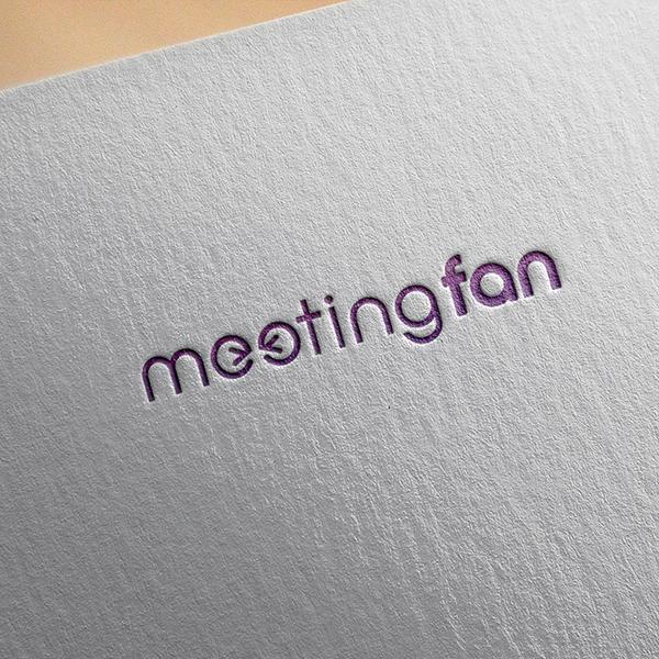 로고 디자인 | 미팅팬 | 라우드소싱 포트폴리오