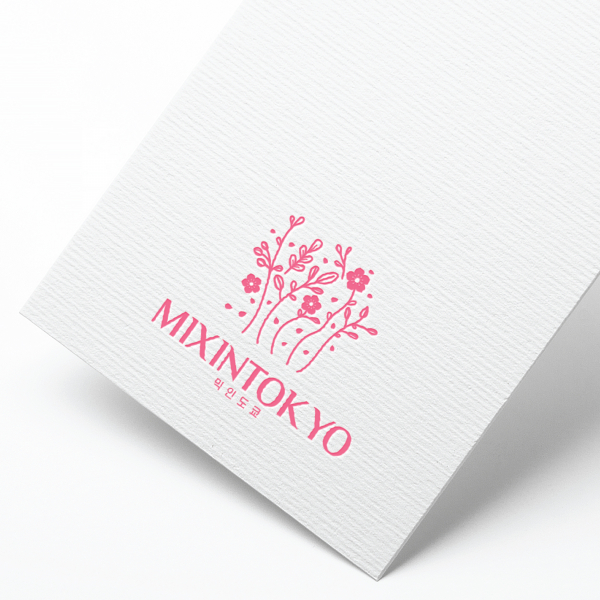 로고 디자인   믹인도쿄(mixintokyo)   라우드소싱 포트폴리오